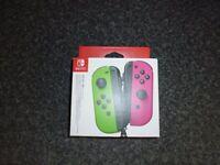 Nintendo Switch Joy-Con Controller Pair - Neon Green / Neon Pink
