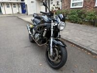 Black Suzuki SV650 K5 Unfaired