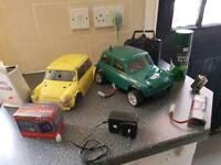 Classic mini Radio Controlled car.