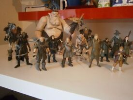HOBBIT AND LORD OF THE RINGS FIGURES