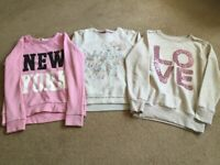 Bundle of Girls Jumpers - Age 8-10