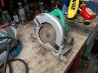 Hitachi hand circular saw