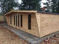 20x10 log cabin