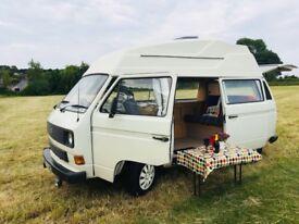 VW t25 hightop camper van