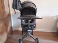 Stokke Grey Pram and Stroller good condition