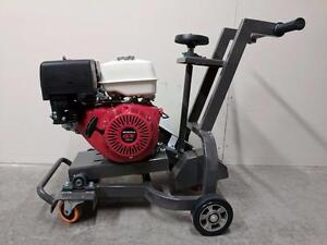 HOC HKC180 HONDA GX390 GROOVING MACHINE ASPHALT ROUTER + 3 YEAR WARRANTY + FREE SHIPPING CANADA WIDE !!!!