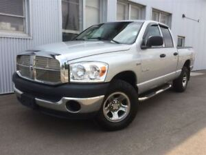 2008 Dodge Ram 1500 ST, 4X4, HEATED EXTERIOR  MIRRORS.