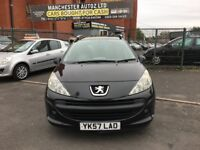 Peugeot 207 SW 1.6 HDi S 5dr (a/c) SERVICE HISTORY,2 KEYS,