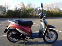 1999 PIAGGIO LIBERTY 125 4T SCOOTER MOPED LEARNER LEGAL GWO 60MPH+ NEW MOT & TAX