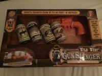 Wild West Gun Slinger Target Kids Game Toy