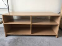 Storage unit/ TV unit - Beech wood- immaculate condition