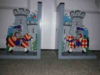 Book ends for a child's room
