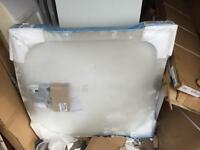 900x900 bow front shower tray new with waste new £65 cost £149