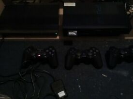 PS2 and PS3