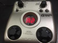 Zoom G1N EXT Guitar Effects Pedal