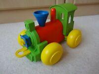 Tupperware Build a Train Engine Toy