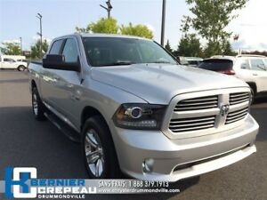 2017 Ram 1500 Sport **CAMERA, BLUETOOTH, PLAN D'OR + WOW**
