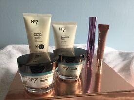 Brand new No 7 skincare