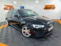 2016 AUDI A3 S-LINE NAV 1.6 TDI ** BLACK EDITION ** LOW MILES ** FINANCE AVAILABLE