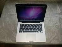 Apple macbook pro intel core2duo 6gb ram 500gb hhd webcam laptop good condition all working