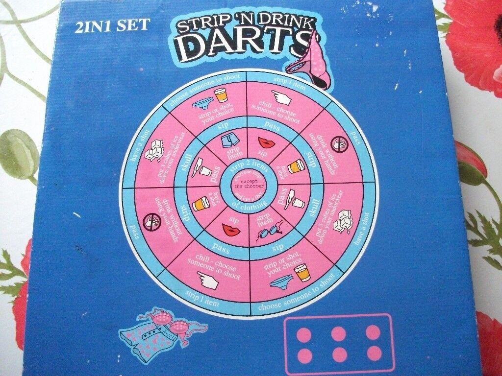 2 in 1 Strip 'n Drink Darts / Drinking Darts