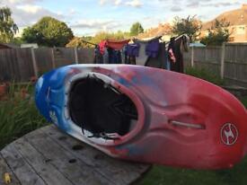 Wavesport kayak palyboat fuse 48 great condition