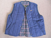 Barbour D345 Trekker Waistcoat/Gilet - New + Unused - XXLarge - Gilet Blue.
