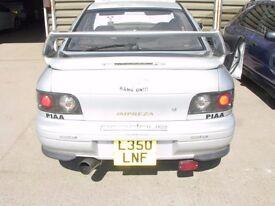 Impreza Clear Rear Lights WRX Turbo 2000