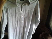 Ralph Lauren shirt perfect condition put on once and it was to big