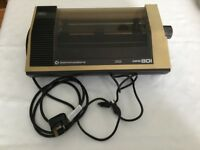 Dot matrix printer for commodore 64, vic 20 etc.