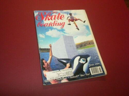 TRANSWORLD SKATEBOARDING magazine 1996 June SKATEBOARD