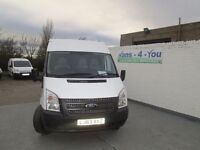 2013 [late transit Long wheel Base M/roof 6 speed r/w/d buy £60 .50 per week x 36 with £1600 down