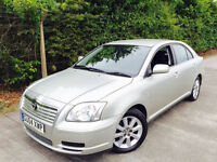 **DRIVES SUPERB+DIRECT TOYOTA DEALERS** TOYOTA AVENSIS 1.8 T3S + FULL SERV HISTORY + LAST OWND 9 YRS