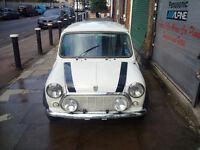 Classic Mini Italian Job Car. Collectors.