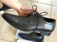 Kurt Geiger Mens Synthetic Black Formal Shoes UK8 - Excellent Condition