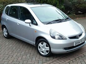 HONDA JAZZ 1.4 MANUAL 2004, LOOKS/DRIVES VERY WELL, LONG MOT, SERVICE HISTORY, VERY CLEAN THROUGHOUT