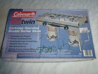 Burner Stove Coleman EPI Twin Model 3052 Boxed and Unused