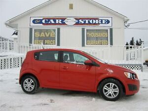 2012 Chevrolet Sonic LS!!!! INFERNO ORANGE!! LEASE RET
