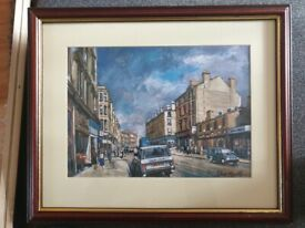 Robin Miller Framed Painting