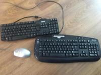 Computer Keyboards & Mouse