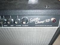 Fender Super Champ XD Tube amp(15 watt 1X10 combo amp)