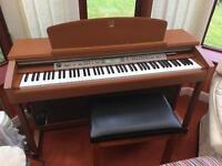 Yamaha Clavinova CLP-170 Electronic Piano & Stool