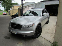 Infiniti FX35 V6 2005 Full Spec Engine 350z AWD LHD 8500£ SOLD NOW Lancer EVO subaru type r STI