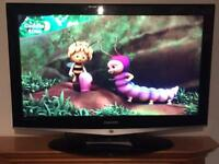 "42"" Samsung LCD HD Tv With HD Freeview Remote Hdmi's"