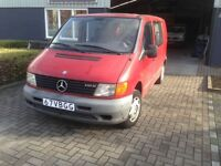 NEAT LEFT HAND DRIVE MERCEDES BENZ VITO,DRIVES PERFECTLY,ENGINE AND MECHANICS IN GOOD SHAPE...CALL