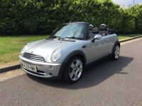 2006 MINI One Convertible 1.6 2dr Manual Petrol 81k miles FSH - with 1 year AA Comprehensive Cover
