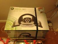 Xbox 360 racing wheel fully working