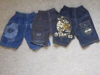 boys shorts 3 pairs approx 3-4 yrs