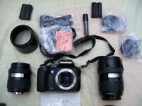 Olympus E500 system DSLR full kit
