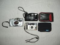 35mm cameras x 3
